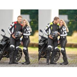 Kombinezon motocyklowy BUSE La-Guna czarno-czerwony