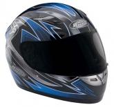 Kask motocyklowy ROCC Warrior niebieski