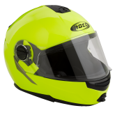 Kask motocyklowy ROCC 680 neonowy S