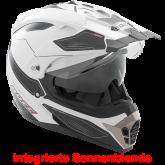 Kask motocyklowy ROCC 771 biało-czarny S