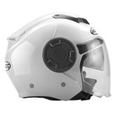 Kask motocyklowy ROCC 280 biały połysk