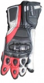 Rękawice motocyklowe BUSE Racing czerwone