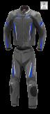 Kombinezon motocyklowy BUSE Imola czarno-niebieski 50