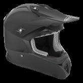 Kask motocyklowy ROCC 740 czarny mat M