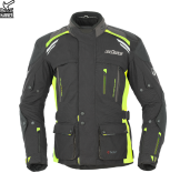 Kurtka motocyklowa BUSE Highland czarno-neonowa