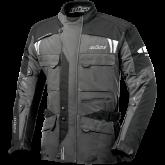 Kurtka motocyklowa BUSE Torino czarno-szara