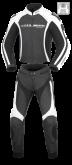 Kombinezon motocyklowy damski BUSE Donington czarno-biały