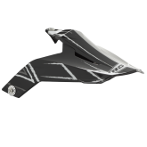 ROCC 851 daszek czarno/biały