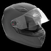 Kask motocyklowy ROCC 320 czarny mat L