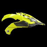 Daszek do kasku ROCC 771 neonowo-żółty