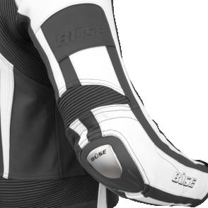Kombinezon motocyklowy BUSE Donington czarno-biały